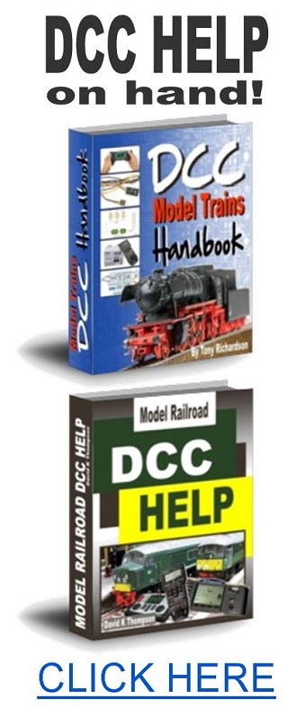 how to operate dcc model trains
